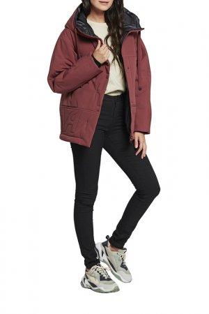 Куртка D`imma. Цвет: кирпичный