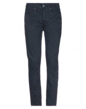 Джинсовые брюки 2 MEN. Цвет: темно-синий
