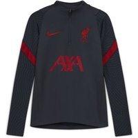 Футболка для футбольного тренинга школьников Liverpool FC Strike - Черный Nike