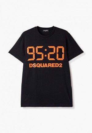 Футболка Dsquared2. Цвет: черный