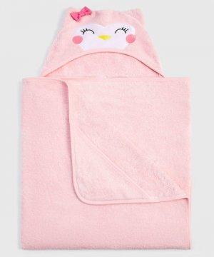 Полотенце для девочек O`Stin. Цвет: светло-розовый