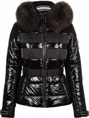 Куртка утепленная женская Juwel m.Kap+P, размер 48 Sportalm. Цвет: черный