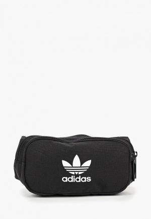 Сумка поясная adidas Originals ESSENTIAL CBODY. Цвет: черный