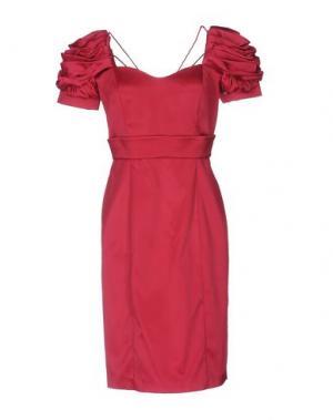 Короткое платье CARLO PIGNATELLI. Цвет: фуксия