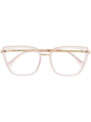 Массивные очки Sanna Mykita. Цвет: нейтральные цвета