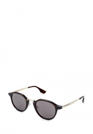 Очки солнцезащитные McQ Alexander McQueen. Цвет: коричневый