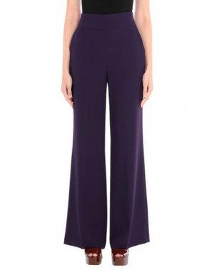Повседневные брюки SANDRO FERRONE. Цвет: фиолетовый