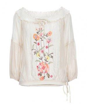 Блузка GADO by MARGRIET WAGERAAR. Цвет: слоновая кость