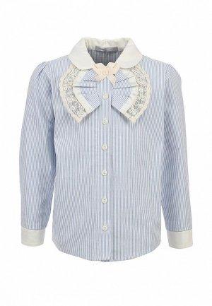 Блуза Gioia di Mamma GI639EGLE506. Цвет: голубой