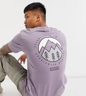 Фиолетовая футболка Tillamook – эксклюзивно для ASOS-Фиолетовый Columbia