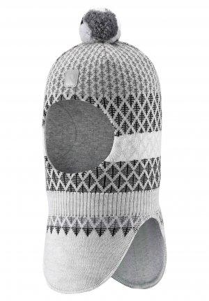 Шапка-шлем Valittu Серая Reima. Цвет: серый