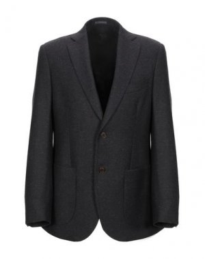 Пиджак AQUARAMA. Цвет: темно-коричневый