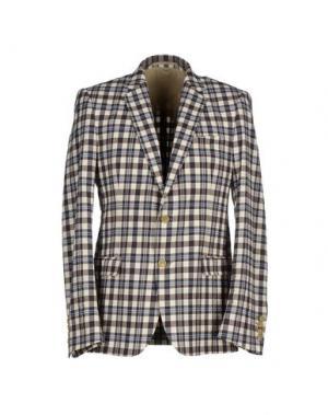 Пиджак WALTER VAN BEIRENDONCK. Цвет: темно-коричневый
