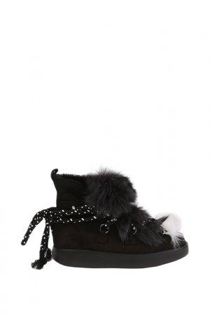 Ботинки My Grey. Цвет: black
