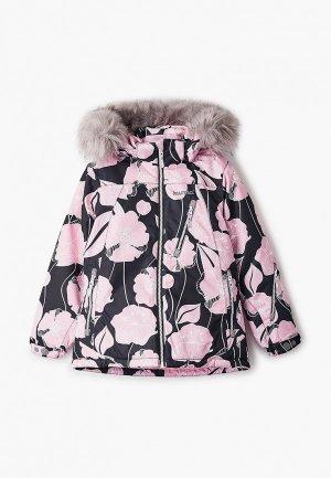 Куртка утепленная Kuoma. Цвет: разноцветный