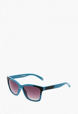 Очки солнцезащитные MR. Цвет: голубой