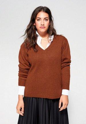 Пуловер Violeta by Mango - ALMOND. Цвет: коричневый