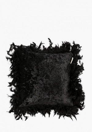 Наволочка декоративная Sofi De Marko 40х40. Цвет: черный