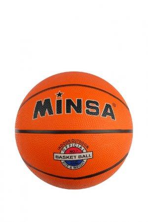 Мяч Minsa. Цвет: оранжевый