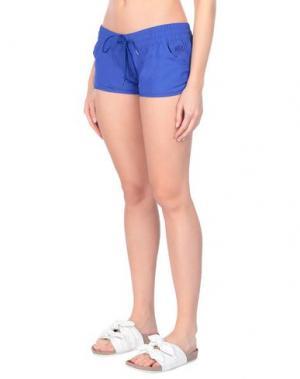 Пляжные брюки и шорты SUNDEK. Цвет: ярко-синий