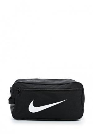 Сумка спортивная Nike Brasilia Training. Цвет: черный