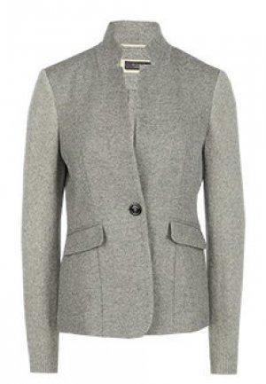 Пиджак PESERICO. Цвет: серый