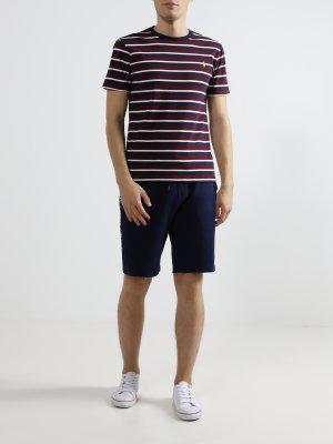 Футболка в полоску Polo Ralph Lauren. Цвет: multikolor
