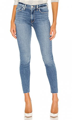 Скинни barbara Hudson Jeans. Цвет: синий