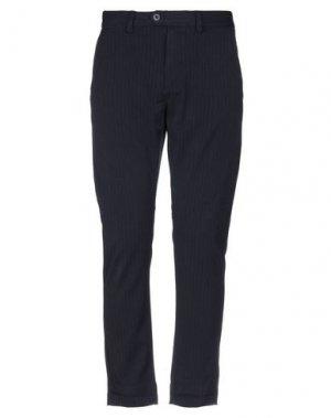 Повседневные брюки JACK & JONES. Цвет: темно-синий
