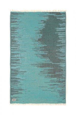 Пляжное полотенце Begonville. Цвет: зеленый, синий