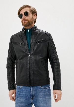 Куртка кожаная Jorg Weber IA009S7/1. Цвет: черный