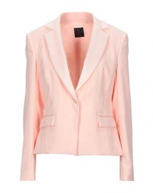 Пиджак HANITA. Цвет: лососево-розовый
