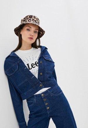 Куртка джинсовая Lee. Цвет: синий