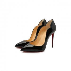 Кожаные туфли Hot Chick 100 Christian Louboutin. Цвет: чёрный