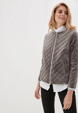 Куртка Argent. Цвет: серый