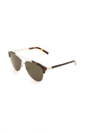 Очки солнцезащитные Karl Lagerfeld. Цвет: 532 золотистый, гавана