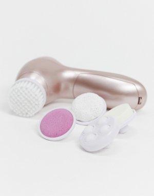 Набор 6 в 1 для чистки лица с электрической щеткой -Розовый Zoe Ayla