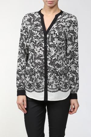 Блузка Marks & Spencer. Цвет: насыщенный черный