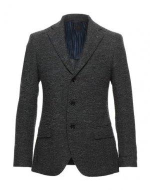 Пиджак MP MASSIMO PIOMBO. Цвет: серый
