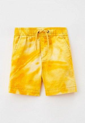 Шорты Gap. Цвет: желтый