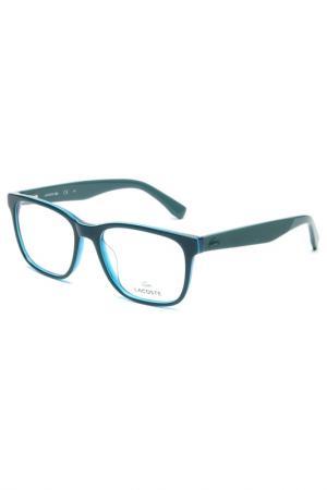 Медицинская оправа Lacoste. Цвет: голубой