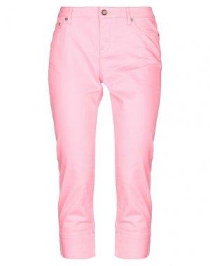 Джинсовые брюки-капри TOMMY HILFIGER. Цвет: розовый