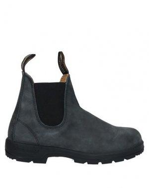 Полусапоги и высокие ботинки BLUNDSTONE. Цвет: стальной серый