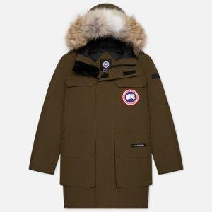 Мужская куртка парка Citadel Canada Goose. Цвет: оливковый