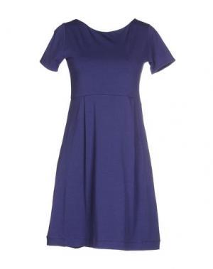Короткое платье ALPHA STUDIO. Цвет: фиолетовый