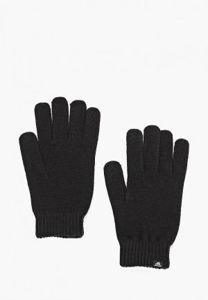 Перчатки adidas PERF GLOVES. Цвет: черный
