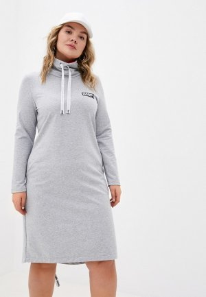 Платье AltraNatura. Цвет: серый