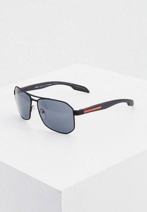 Очки солнцезащитные Prada Linea Rossa PS 51VS DG05Z1. Цвет: черный