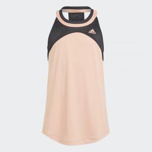 Майка для тенниса Club Performance adidas. Цвет: черный