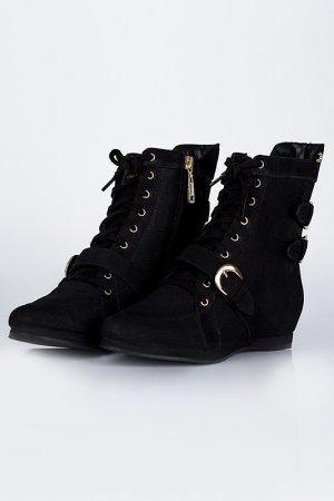 Ботинки CRISTOFOLI. Цвет: черный